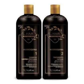 G.Hair Inoar Moroccan Kit 2x1 Liter