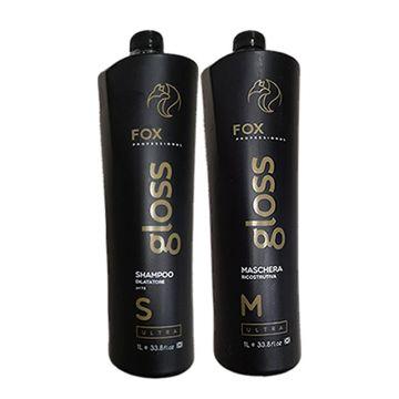 Fox Gloss Ultra Treatment Kit 2x1 Liter